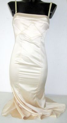 Just Cavalli champagne-coloured design evening dress