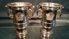 Pair of silver plated Cocktail Cups Made in England