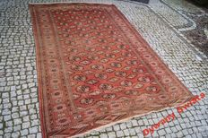 ANTIQUE Turkmen Patina - Vintage Design Hand knotted  270x175