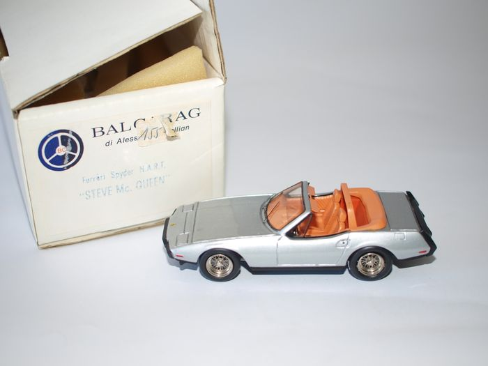 Balcarag  - 1/43 scale - Ferrari Spider Nart of Steve Mac Queen, 1967