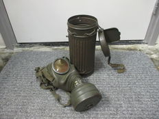 German gas mask dated 1939.