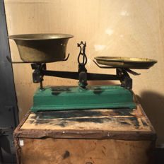 Cast iron scales - force 5 kg