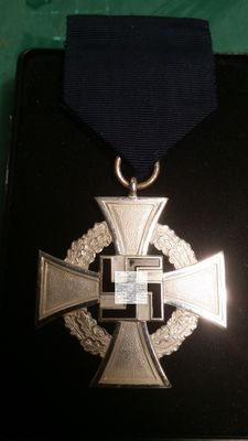 25 Years Civil Service Faithful Service Medal - 25 Jahre Treue Dienste