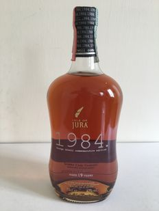 Isle of Jura 1984 - 19 Years Old -Sherry Cask