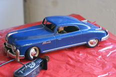 Arnold, US Zone Germany - L. 25 cm - Primat Coupé made of tin with mechanics, 1950s