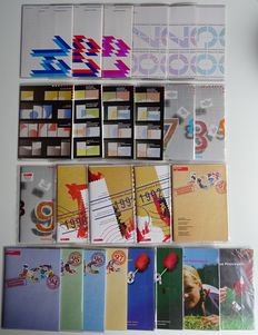 The Netherlands 1979/2001 - complete collection of 25 official year sets