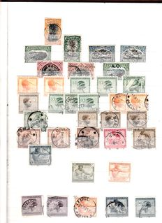 World - Collection of stamps/blocks/sheets in stock book