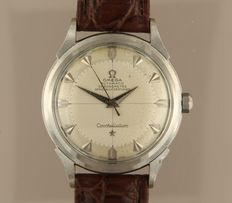 Omega Constellation Chronometer Pie Pan Calibre 354 – men's wristwatch – year 1952