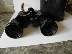 Vintage Haco Prism Binoculars with hard case -7 x 50 Field 7.1 - from around 1970/1973 plus free vintage Noblesse 7x50 binoculars also from the '70s