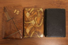 Lot of 3 religious books, parishioners - 1885 / 1939 & no date (early 20th)