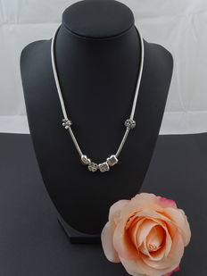 Silver, 925 kt necklace, 45.4 cm