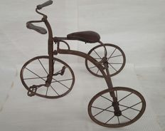 Antique brocante children's tricycle