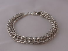 Ladies 925 silver bracelet Length: 20 cm.  Weight: 22.30 g.