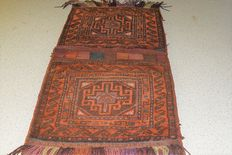 Persian saddlebag, Iran, first half previous century, 110 x 50 cm - No reserve, bidding starts at €1.