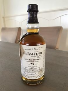 The Balvenie 1974 25 years old - single barrel