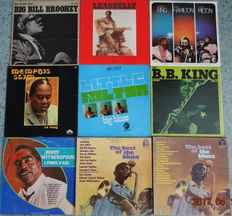 9  BLUES albums (13 Lp's) The Greatest !