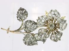 Victorian diamond brooch - 1870