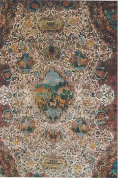ENTHOUSASTIC TABRIZ WOOL 75 YEARS OLD