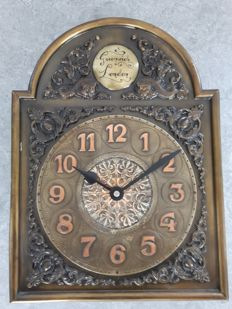 Large old vintace clock, Greenwich London wall clock