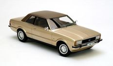 Neo Scale models - Scale 1/18 - 1976 Ford Taunus TC2 Ghia - Colour: Gold metallic
