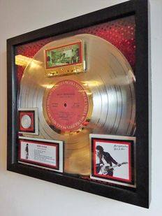 "Bruce Springsteen Platinum Record Award for ""Born to Run"""