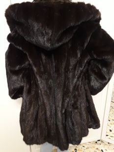 Blackglama – exquisite mink coat Women's coat/jacket with hood