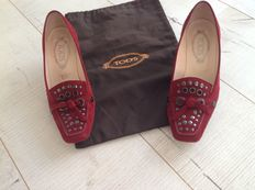 Tods courts size 37½ with dust bag