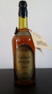 Historical Calvados Patry - Vintage 1939