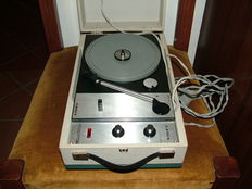 Record player - LESA brand from the 1960s - Portable Record Player