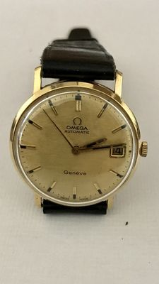 Omega Genève - Classic 18 kt gold vintage men's watch - 1960s