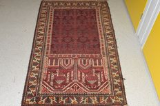 Beautiful Persian carpet Baluch – First half 20th century – approx. 150 x 90 cm  NO RESERVE, STARTS AT €1