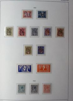 "The Netherlands 1852/1960 – Collection in an Importa ""Juweel"" album"
