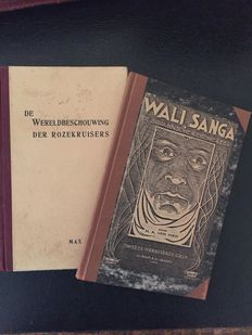 Two books by Max Heindel on esoteric religion - 1932/1947