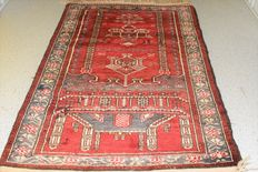 Magnificent, Persian, Baluch  carpet – first half previous century – approx. 125 x 75 cm. No reserve price, bidding starts at €1.