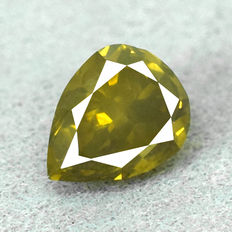 Diamant - 0.67 ct No Reserve Price