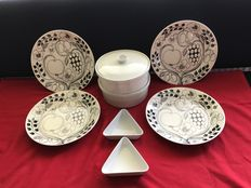 Arabia Paratiisi tableware - 8 pieces