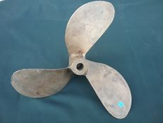 Antique bronze propeller