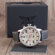 Aviator Pilot F-series Chonograph men's watch in new condition