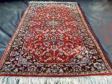 Beautiful handmade Persian Kashan rug from India,  best highland wool.  No reserve, bidding starts at €1.