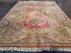 Milas patina handmade carpet, Fantastic collection of old rug - Anatolia / Turkey - Early 20th century - No reserve, bidding starts at €1.