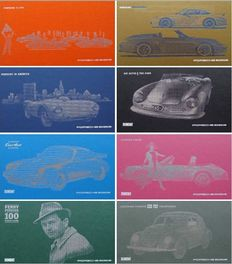 Set of 8 Books from the Porsche Museum