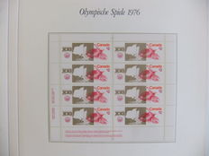 Olympic Games 1976 – Topical collection in special album