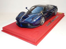 BBR - Scale 1/18 - Ferrari LaFerrari, Blue Tour de France