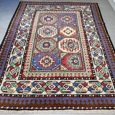 Wonderful unique Persian Shirvan rug, 160 cm x 122 cm, very good condition, special!