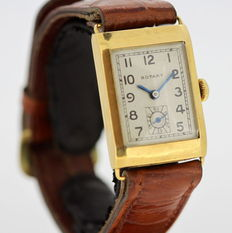 Rotary - 18K Solid Gold Vintage Manual Winding Wristwatch, 1960's