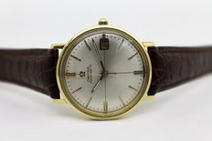 Omega 18kt Gold – Men's Wristwatch – 1969