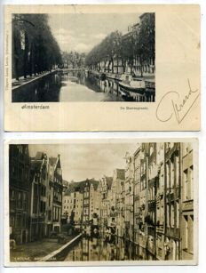 Amsterdam, The Netherlands, 1900-1950; 100 x