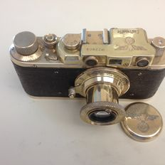 Leica II (WW ll Luftwaffe )Copied by Fed!  Healthy Condition