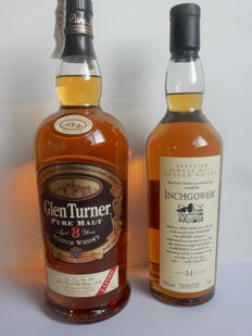 2 bottle - Glen Turner 8 years old and Inchgower 14 years old Fauna & Flora