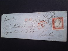 Sardinia 1862, Tuscany 1860 - Two classical letters.